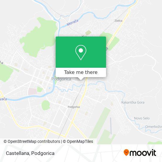 Castellana map