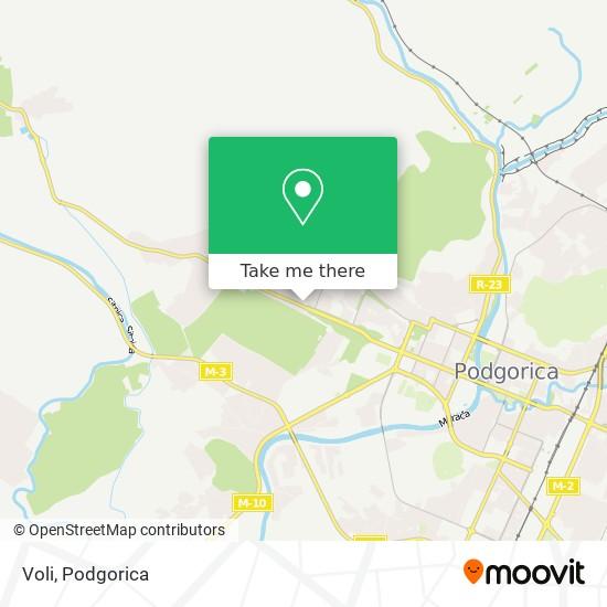 Voli map