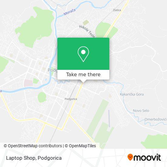 Laptop Shop map