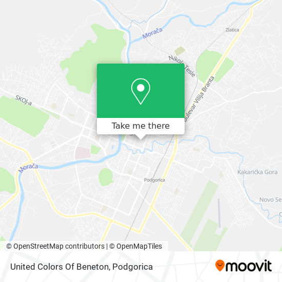 United Colors Of Beneton map
