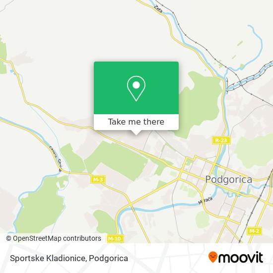 Sportske Kladionice map