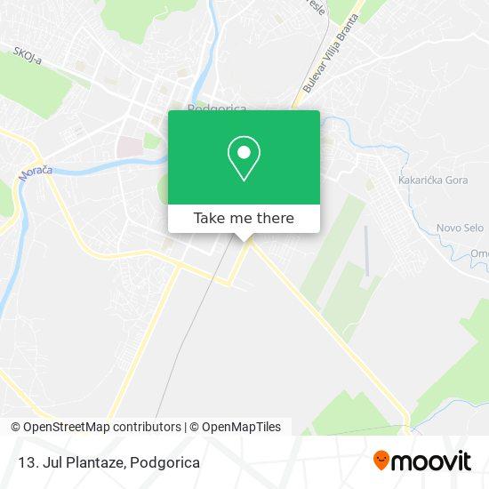 13. Jul Plantaze map