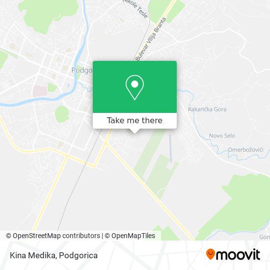 Kina Medika map
