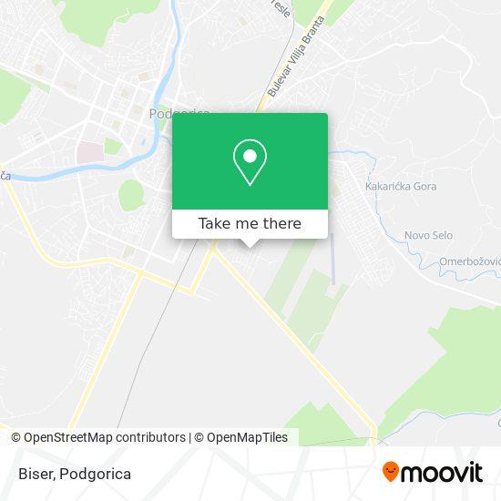 Biser map