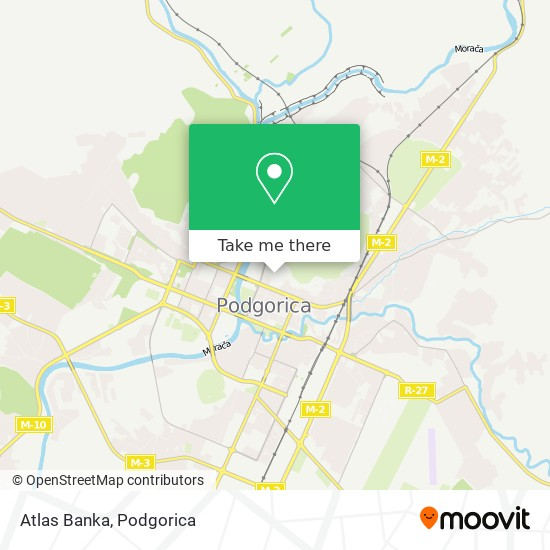 Atlas Banka map