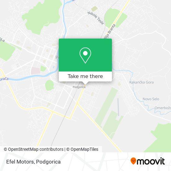 Efel Motors map