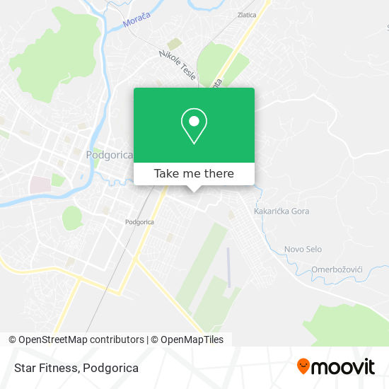 Benex Fitness map