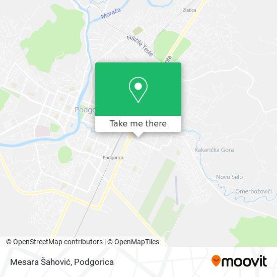Mesara Šahović map