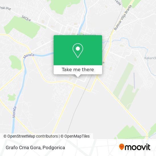 Grafo Crna Gora map