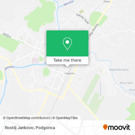 Rostilj Jankovic map
