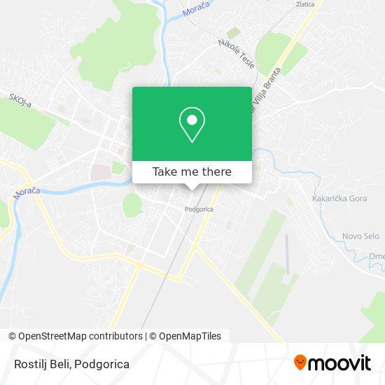 Rostilj Beli map