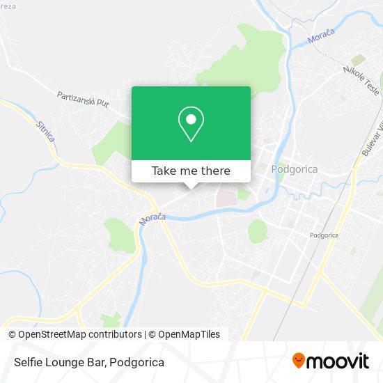 Selfie Lounge Bar map