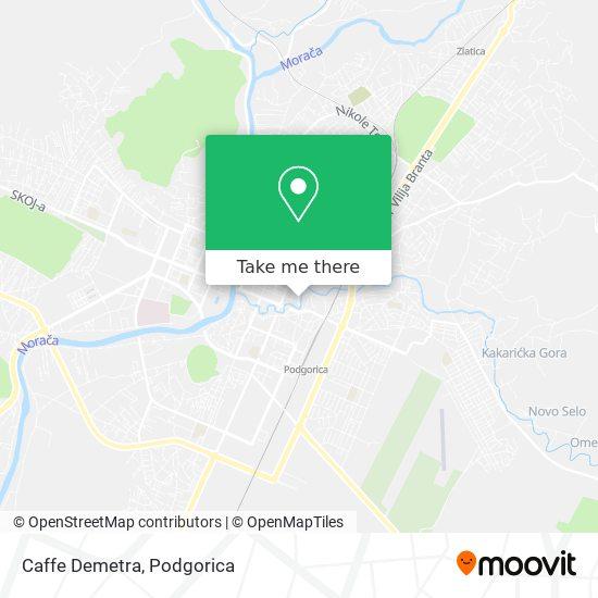 Caffe Demetra map