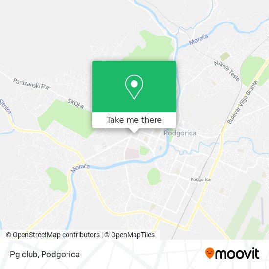 Pg club map