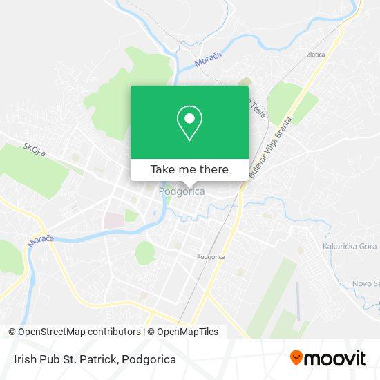 Irish Pub St. Patrick map