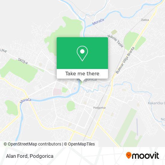 Alan Ford map