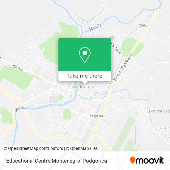 Educational Centre Montenegro map