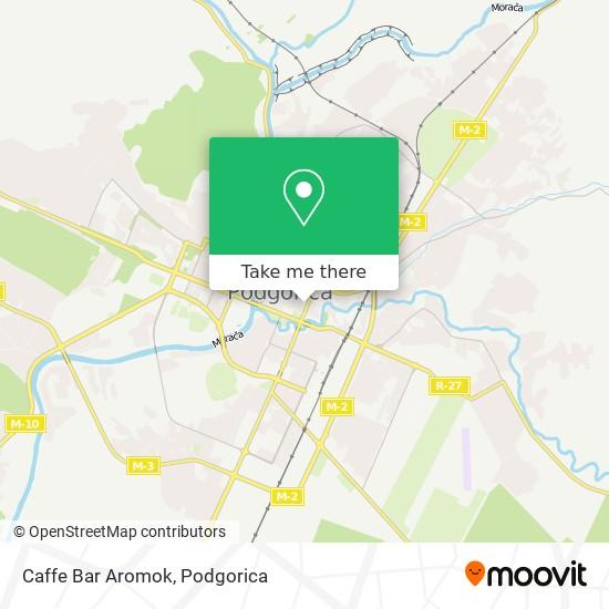 Caffe Bar Aromok map