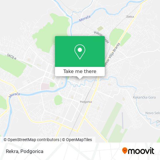 Rekra map