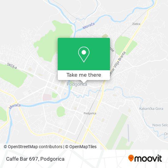 Caffe Bar 697 map