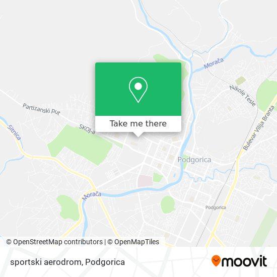Karta sportski aerodrom
