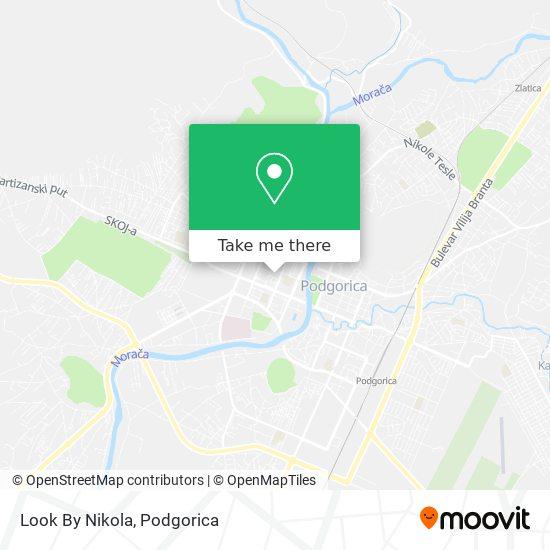 Look By Nikola map