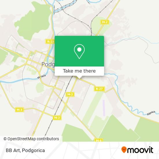 BB Art map
