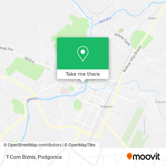 T-Com Biznis map