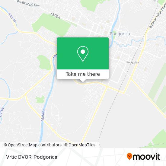 Vrtic DVOR map