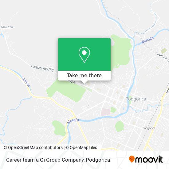 Career team a Gi Group Company map