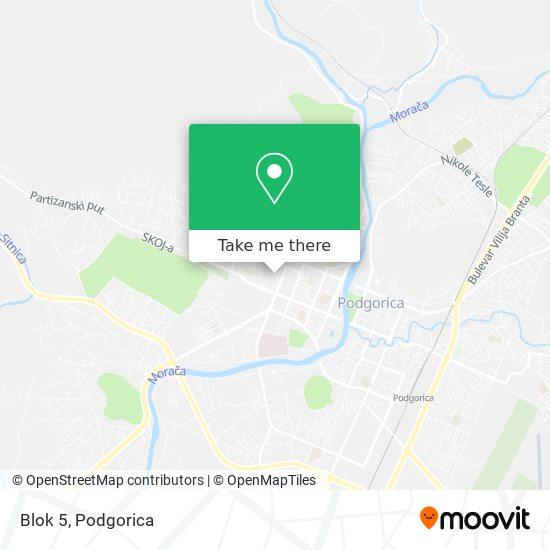 Blok 5 map
