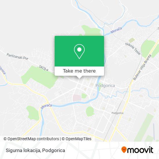 Sigurna lokacija map