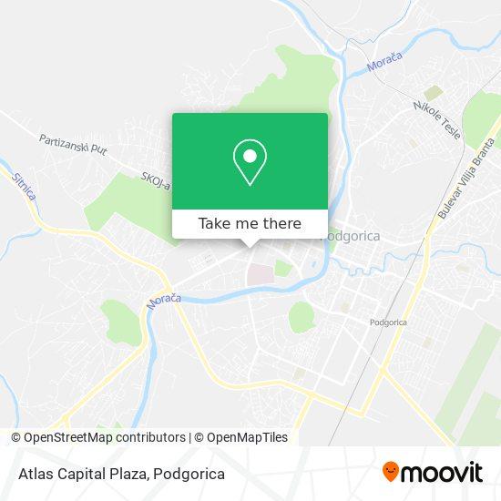 Atlas Capital Plaza map