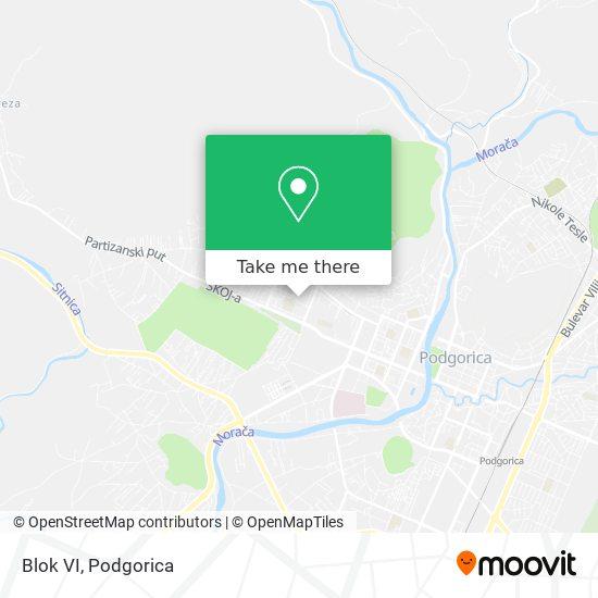 Blok VI map
