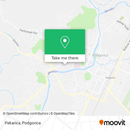 Pekarica map