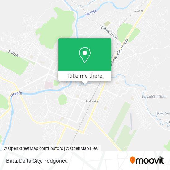 Bata, Delta City map