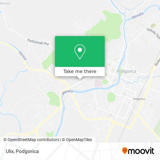 Ulix map