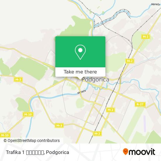 Trafika 1 📰📰📰📰📰📰 map