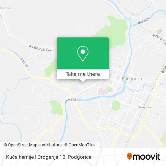 Kuća hemije   Drogerija 10 map