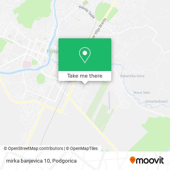 mirka banjevica 10 map