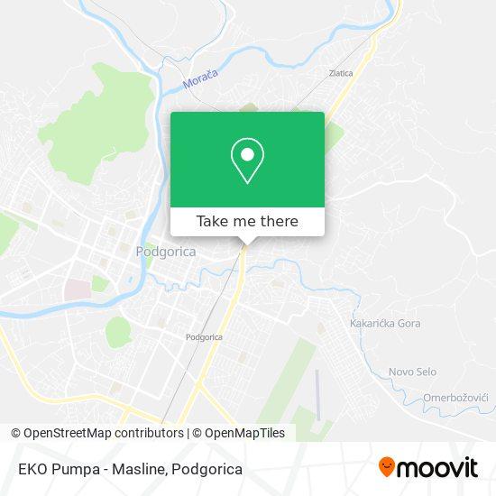 EKO Pumpa - Masline map