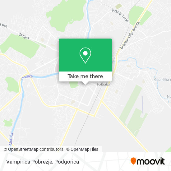Vampirica Pobrezje map