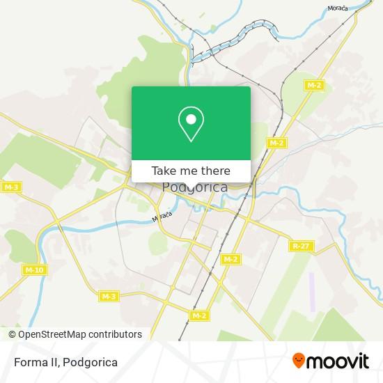 Forma II map