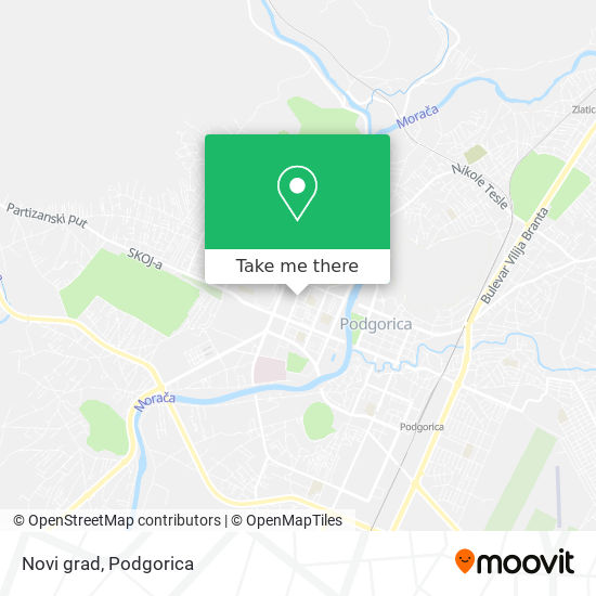 Novi grad map