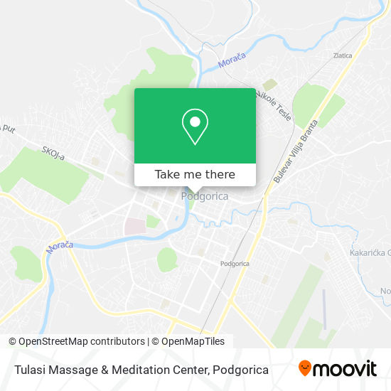 Tulasi Massage & Meditation Center map