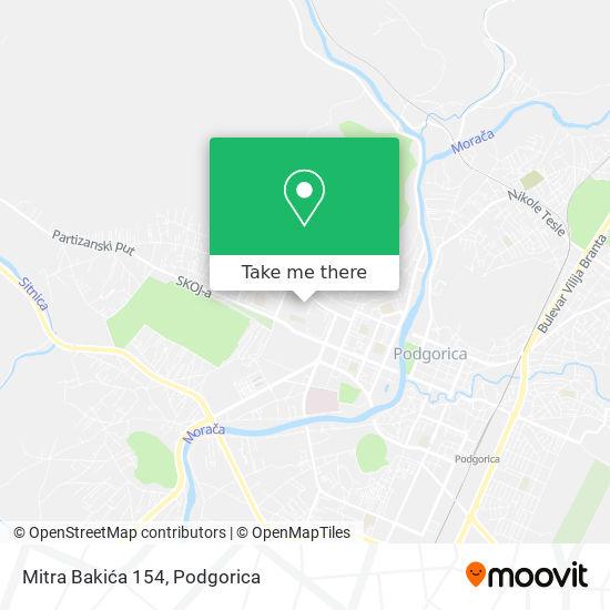 Mitra Bakića 154 map