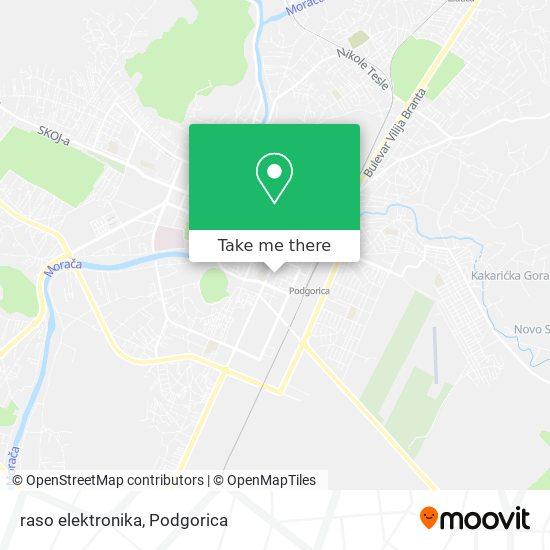 raso elektronika map