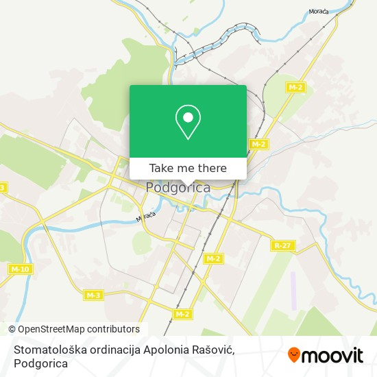 Stomatološka ordinacija Apolonia Rašović map