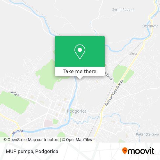 MUP pumpa map