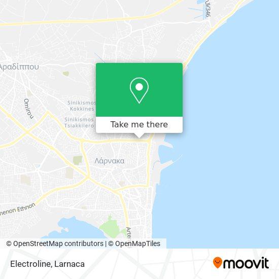 Electroline χάρτης